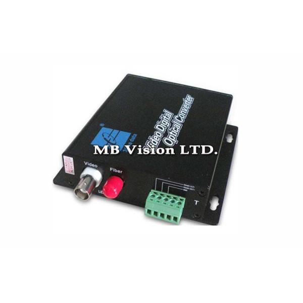 Видео конвертор за пренос по оптично влакно на видео
