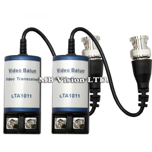 Комплект балун трансформатор за пренос по FTP/UTP кабел