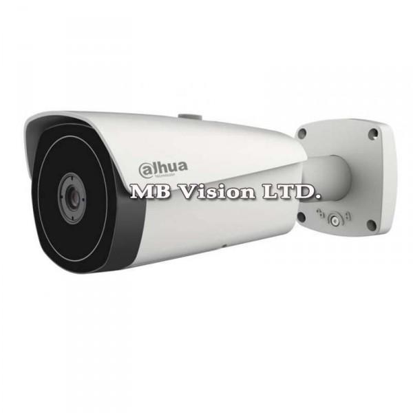 IP термовизионна камера Dahua, детекция човек, кола