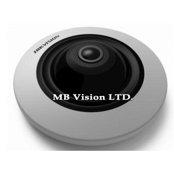 Панорамна (Fish-eye) IP камера Hikvision с 4MP резолюция DS-2CD2942F-I