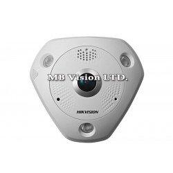 6MP Fisheye IP камера Hikvision с IR до 15m - DS-2CD6362F-I