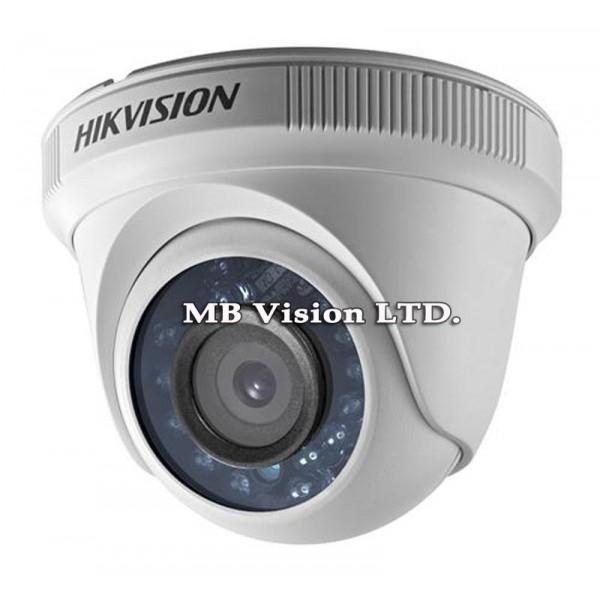 1MP Turbo HD, HD-TVI вътрешна куполна камера Hikvision DS-2CE56C0T-IRF