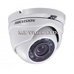 2MP HD-TVI куполна камера Hikvision DS-2CE56D8T-ITME, 2.8мм, PoC