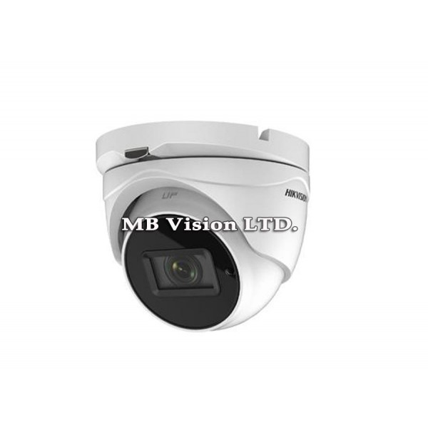 4K, 8MP TurboHD камера Hikvision DS-2CE79U8T-IT3Z, IR 80m, 2.8-12mm