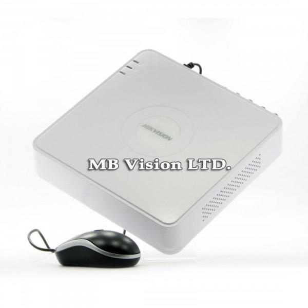 NVR рекордер Hikvision DS-7108NI-SN/P за 8 IP камери с 8 PoE LAN порта