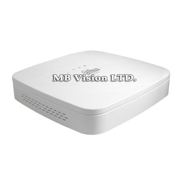 NVR рекордер Dahua с 4 видео канала и 4 PoE LAN порта NVR2104-P-S2