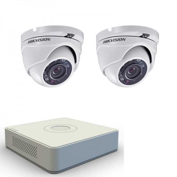 Full HD комплект с 2 камери Hikvision