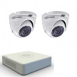 Комплект с 2 HD външни камери + HD ДВР рекордер