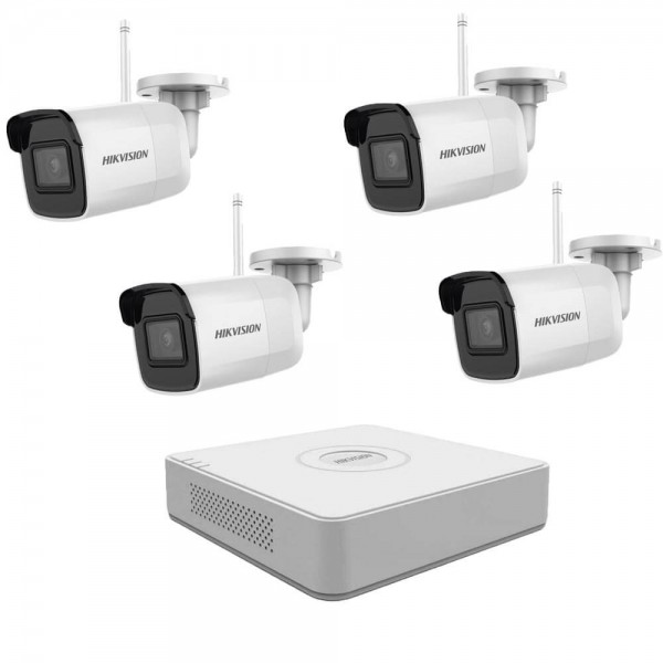 4MP WiFi комплект за видеонаблюдение