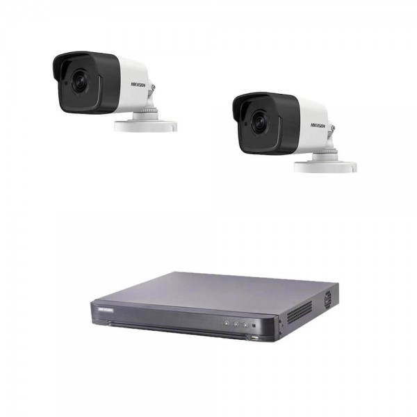 Комплект 5MP с 2 камери + Turbo HD DVR