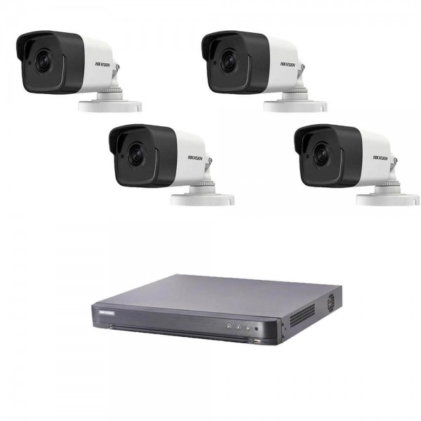 Комплект 5MP с 4 камери + Turbo HD DVR