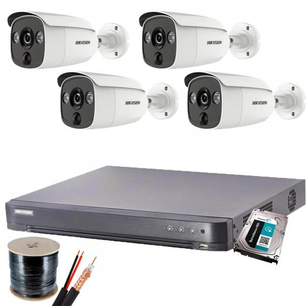 Full HD система 4 камери, DVR и всичко нужно