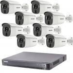 Full HD система 8 камери и DVR Hikvision