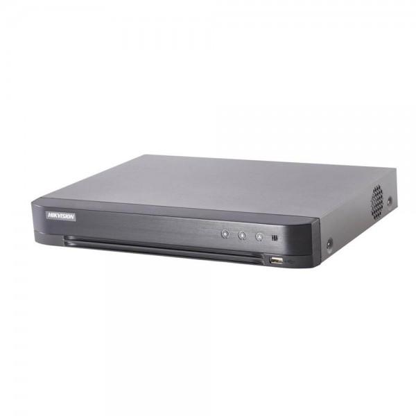 16-канален DVR Hikvision DS-7216HUHI-K2(S) за 16 TurboHD + 16 IP
