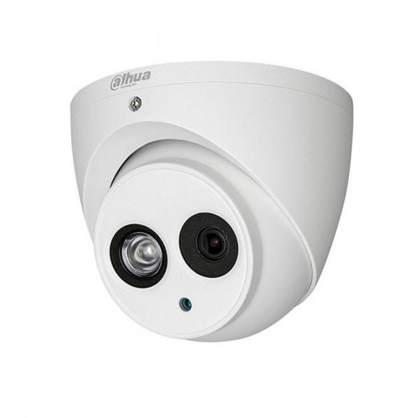 2MP камера Dahua HAC-HDW1200EM-A-POC-0280B, 2.8mm, IR 50м