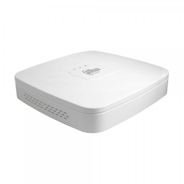 NVR Dahua с 4 видео канала и 4 PoE LAN порта NVR2104-P-4KS2