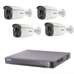Full HD система 4 камери и DVR Hikvision