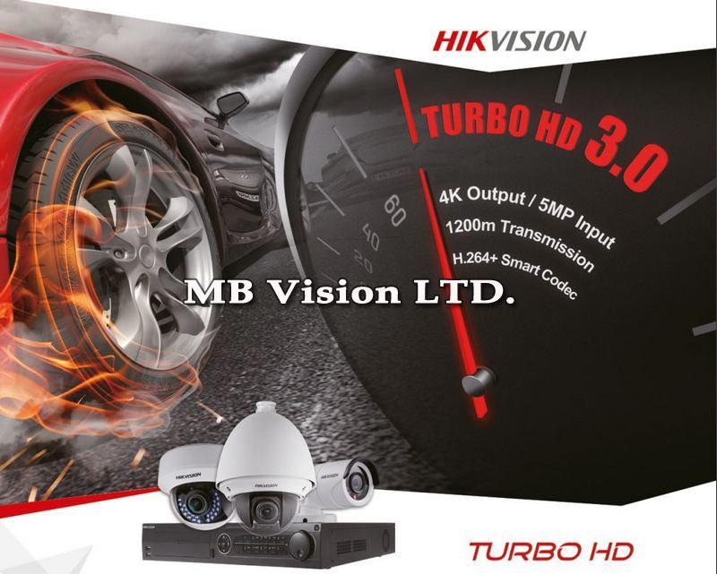 Нова, бюджетна серия Turbo HD 3.0 рекордери Hikvision
