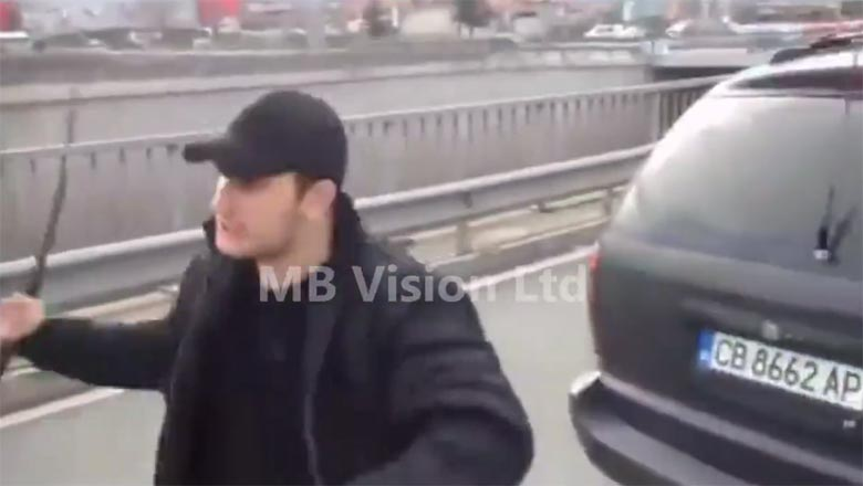 Мутри бият шофьор на Околовръстното в София