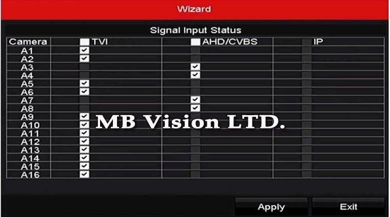 Начин на свързване по двойки на рекордер Hikvision Turbo HD 3.0