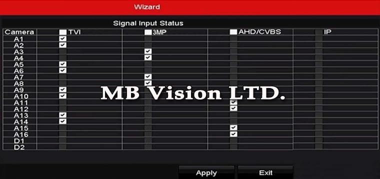 Начин на свързване по двойки на рекордер Hikvision Turbo HD 3.0 - снимка 2