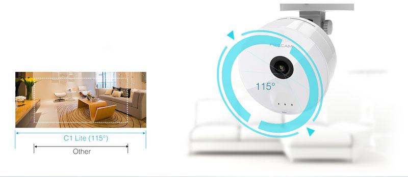 Wi-Fi камера бейбифон за магазин с широк ъгъл на виждане