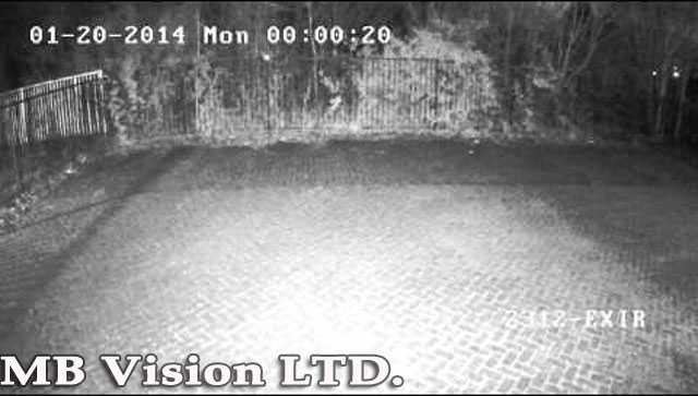 демонстрация на IP камера през нощта