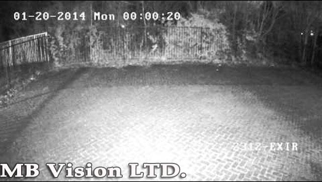 нощна демонстрация на IP камера